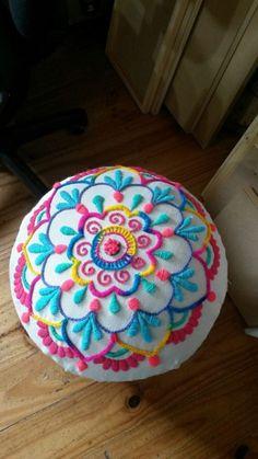 bordado mexicano colorido