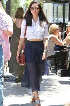 Olivia Munn Goes Summery Out And About In LA, 2014