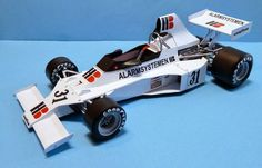F1 Paper Model - 1975 GP France Ensign N175 Ford Paper Car Free Download