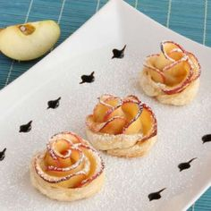 Blossoming Fruit Desserts - Apple Roses by Kouzino Mageieremata are Perfect for Garden Parties