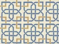 Kravet Print Blue TOWSON.1615