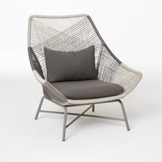 Exceptionnel West Elm Huron Outdoor Large Lounge Chair + Cushion
