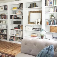 Bookcase Wall, Decorating Your Home, Shelves, Live, Room, House, Home Decor, Desk, Bedroom