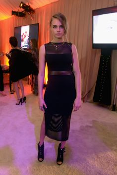 Cara Delevingne - The Art of Elysium's 8th Annual  HEAVEN Gala in Los Angeles, California.  (January 10, 2015)