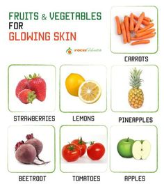Fruits and Veggies that can help you have a beautiful skin : http://ifocushealth.com/juicing-for-health/