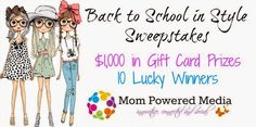 $1000 Back to School in Style Sweepstakes including a $100 Gift Certificate from The Ultimate Green Store!