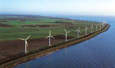 Vindkraft har vært brukt som energikilde i Danmark lenge. Kappel Vindmøllepark ved Nakskov på Lolland ble anlagt i begynnelsen av 1990-årene