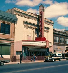 The State Theatre - Hibbing, MN 1981... day it was torn down.