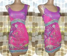 Vintage 60s Emilio Pucci Psychedelic Mini Slip by IntrigueU4Ever, $115.00