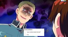 Hetalia text post.- this is true a lot of the time...unless I am at D&D