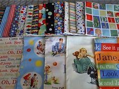 dick and jane fabric | Thread: Dick and Jane Fabric ideas