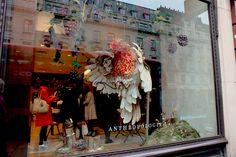 A beautiful window in at to celebrate the season. Perfect Christmas Gifts, Christmas 2014, Christmas Lights, Window, Seasons, Street, Painting, Inspiration, Beautiful
