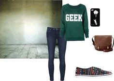 """""""GEEK3"""" by oliviawright on Polyvore"""