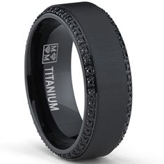 Elegant Tips On How To Choose Men Black Wedding Bands Lovely Wedding Ideas And Black Wedding Bands For Men