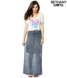 d658dea2393 Bethany Mota clothing line available at Aeropostal Bethany Mota Collection