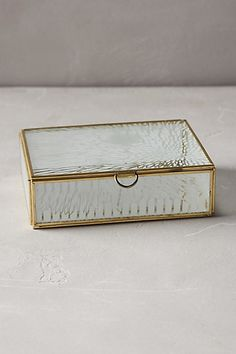 First Frost Jewelry Box  #anthropologie