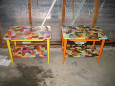 Decoupage Shapes - painted legs