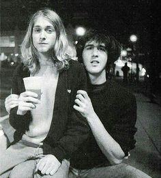 Kurt Cobain & Krist Novolselic