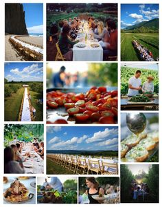 DO THIS - Attend an Out Standing In The Field Dinner at a location of interest, with someone I love