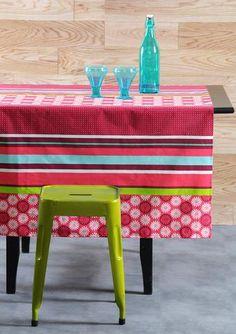 Stof - Nappe enduite FARO - 100% Coton Furniture, Home Decor, Tablecloths, Cotton, Decoration Home, Room Decor, Home Furniture, Interior Design, Home Interiors