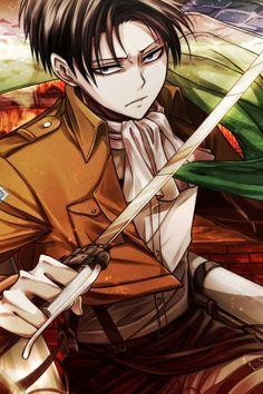 "Attack on titan Levi | ... RP blog for Levi from Attack on Titan (""Shingeki no Kyojin"