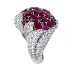 CARTIER Ruby and Diamond Ring