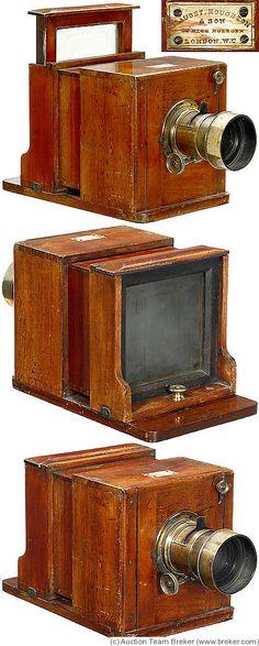 Houghton: Daguerreotype Tropical Sliding Box camera