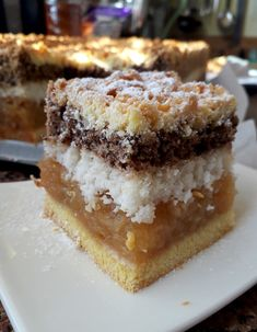 Egg Ingredients, Apple Cake Recipes, New Cake, Polish Recipes, Food Cakes, Cheesecake, Food And Drink, Tasty, Sweets