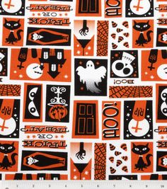 Halloween fabric Joann.com