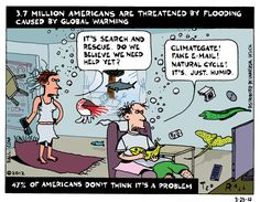 According to the government, 3.7 million Americans will soon be threatened by flooding in low-lying areas due to climate change caused by human industrial activity. At the same time, 47 percent of Americans say they don't think climate change is a serious issue. So what about those who will be displaced? Will they believe the truth when the water touches their toes?