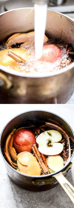 Homemade Simmering Spices - make your home smell amazing during holidays! by @howsweeteats I howsweeteats.com