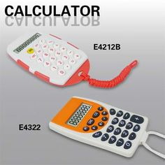 Item name:Calculator with Cord contact mail:tesales83@vip.163.com