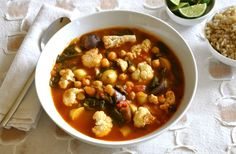 Golden chickpea stew