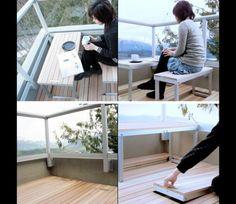 Полезные изобретения для балкона