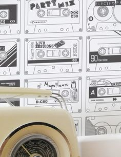mix tape wallpaper