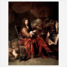 Charles le Brun · Autoritratto · 1685 · Louvre · Paris