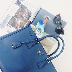 I'm blue (da ba dee...) #justlanded #prada #loveatfirstsight #instafashion #instastyle #love #pradabag #pradasaffiano #saffianotote #instalove #stylish #details #fwis #tiw #vogue #itbag #preowned #covetique #sneakpeekFollowing Blue Da Ba Dee, Im Blue, Love At First Sight, Hermes Kelly, Behind The Scenes, Vogue, Instagram Posts, Bags, Fashion