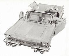 Mercury XM-Turnpike Cruiser, 1956