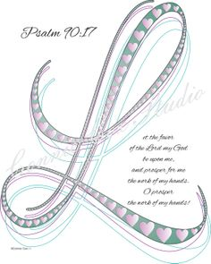 Instant Digital Download Love Lines Letter L by ConnieCoxStudio, $6.00