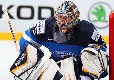 Finland Blanks Germany In 2014 Ice Hockey World Championship Olympic Hockey, Ice Hockey, Hockey World, Goalie Mask, World Championship, Finland, Olympics, Motorcycle Jacket, Germany