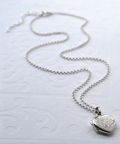 Another great find on #zulily! Sterling Silver Sweet Heart Locket #zulilyfinds