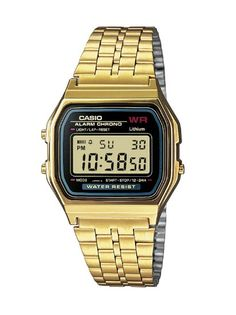 Casio Collection Herren-Armbanduhr Digital Quarz A159WGEA-1EF: Casio: Amazon.de: Uhren