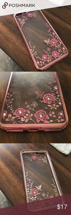 iPhone 7 plus case iPhone 7 plus phone case in great condition. Sort plastic like material. Super cute Accessories Phone Cases