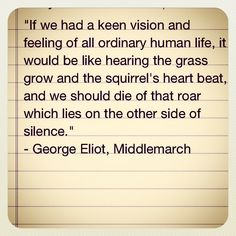 George Eliot quotation
