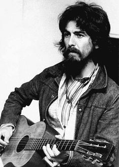 ~George is the famous lead guitarist of the Beatles, Harrison was born on February 25 1943 in Liverpool England. Description from pinterest.com. I searched for this on bing.com/images