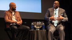 Common and Magic Johnson (Photo credit: Dave Pence, courtesy of Coca-Cola North America)