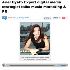 Ariel Hyatt Featured on Music Business Facts Podcast in Australia | CyberPR Music