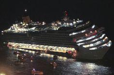 Luxury cruise ship Costa Concordia runs aground- slideshow - slide - 1 - TODAY.com