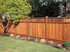 Redwood fencing construction portfolio a and j fencing garden redwood fence workwithnaturefo