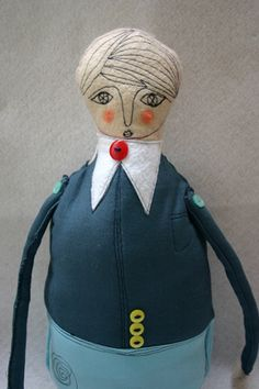 on of my very first dolls(he is cute!)  by cara carmina
